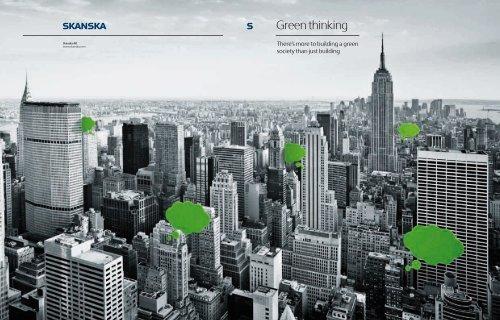 Green thinking - Skanska