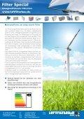 Info energieeffiziene Filtration - HS Luftfilterbau GmbH - Page 2