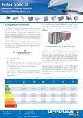 Info energieeffiziene Filtration - HS Luftfilterbau GmbH - Page 4