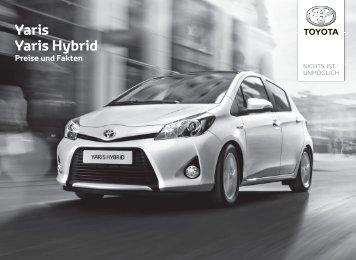 Yaris Yaris Hybrid - Toyota