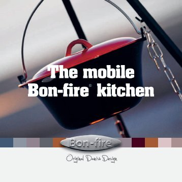 The mobile Bon-fire® kitchen