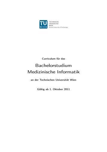 Bachelorstudium Medizinische Informatik
