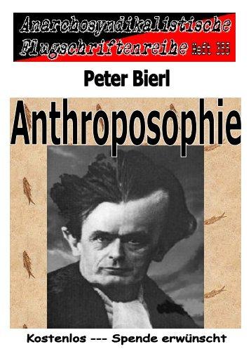 355 Bierl, Peter --- Anthroposophie