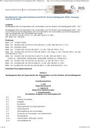 RIS - Gesamte Rechtsvorschr...