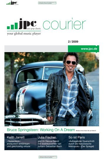 Bruce Springsteen: Working On A Dream Weitere Infos finden Sie ...