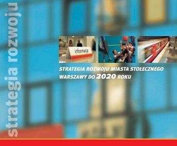 Strategia Rozwoju m.st. Warszawy do 2020 r. - Warszawa