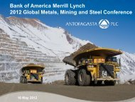 Investor Presentation: Merrill Lynch Conference - Antofagasta plc