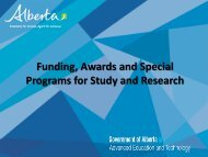 funding and awards mexico mission