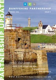 inside this issue . . . - Banffshire Partnership