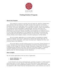 Download print-friendly PDF - Mind & Life Institute