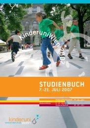 Studienbuch - Technische Universität Wien