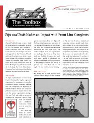 The Toolbox - Heart and Stroke Foundation of Ontario