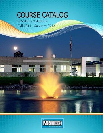 ONSITE COURSES Fall 2011 - Summer 2012 - Ottawa Area ...