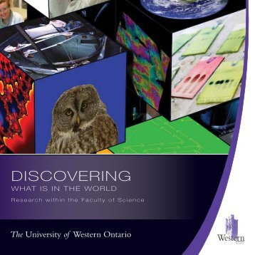 DISCOVERING - University of Western Ontario