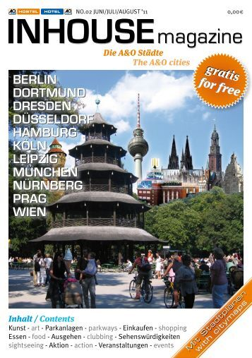 INHOUSE magazine Berlin