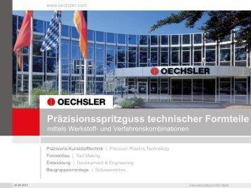 Präzisionsspritzguss technischer Formteile durch Werkstoff ...