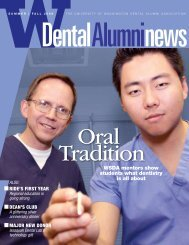 dr - University of Washington School of Dentistry