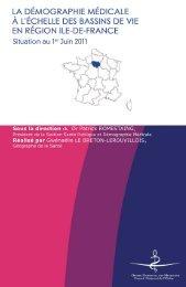 Atlas 2011 de la région Ile-de-France - Conseil National de l'Ordre ...