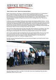 Best of Service Team - S&G Automobil Aktiengesellschaft