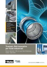 Transair: Reti innovative per fluidi industriali