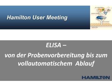 ELISA - Hamilton Robotics