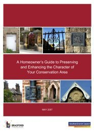 Download Bradford Council's useful document for ... - Saltaire Village