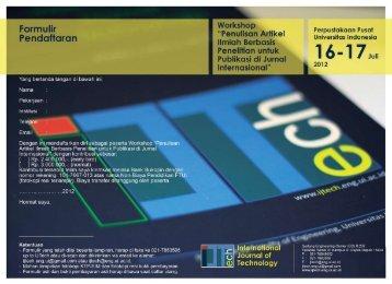 Formulir Pendaftaran - SPS