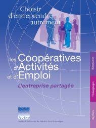 Les Coopératives d'activité et d'emploi (CAE)