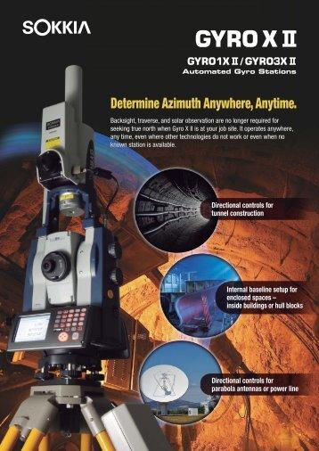 Gyro X II brochure [403KB]