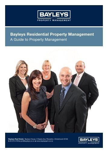 Guide to Property Management