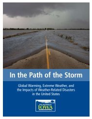 Path of the Storm via screen - Environment Iowa