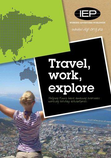 Travel, work, explore - IEP