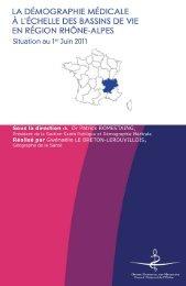Atlas 2011 de la région Rhône-Alpes - Conseil National de l'Ordre ...