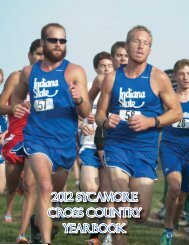 2012 Cross Country Yearbook - Indiana State University Athletics