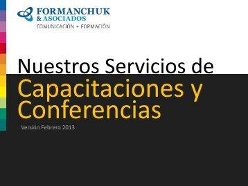 Diapositiva 1 - Formanchuk & Asociados