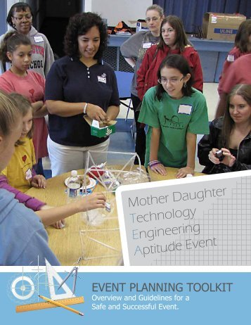 Mother Daughter Technology Engineering Aptitude Event