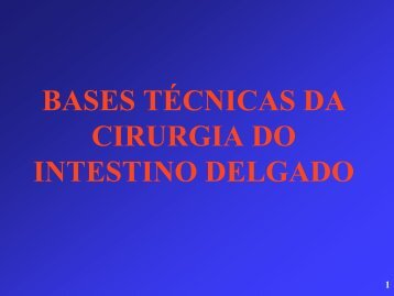 Cirurgias do intestino delgado