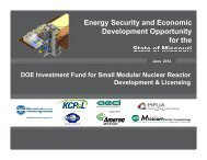 Small Nuclear Reactors - American Council of Engineering ...