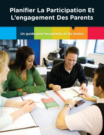 Planifier La Participation Et L'engagement Des Parents