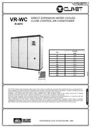 direct expansion water cooled close control air conditioner - BTK