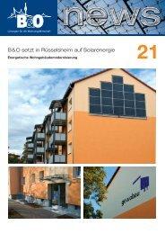 B&O setzt in Rüsselsheim auf Solarenergie - B&O - Lösungen für die ...