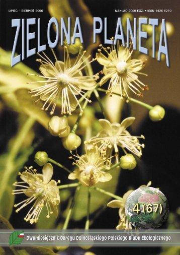 LIPIEC – SIERPIEŃ 2006 NAKŁAD 2000 EGZ. • ISSN 1426-6210