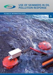 USE OF SKIMMERS IN OIL POLLUTION RESPONSE - ITOPF