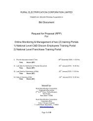 Bid Document Request for Proposal (RFP) For Online Monitoring ...