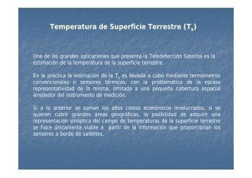 Estimación de temperatura