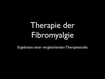 Therapie der Fibromyalgie