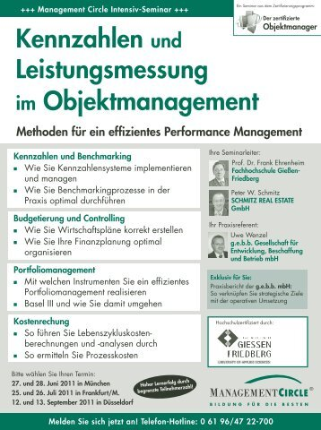 Seminar: Kennzahlen und Leistungsmessung im ...