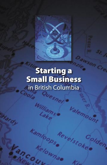 Starting a Small Business in British Columbia - Small