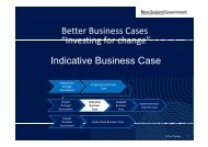 Better Business Cases: Indicative Business Case - National ...