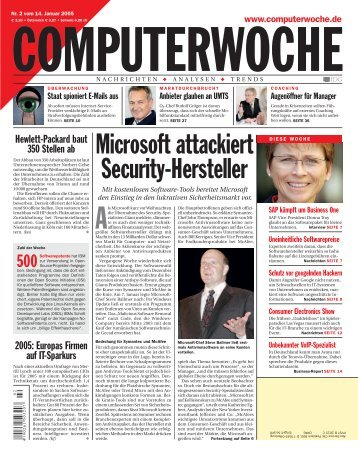 Microsoft attackiert Security-Hersteller